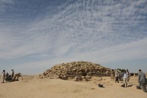 Пирамидата край древното селище Едфу е на 4600 години. Снимка: University of Chicago Oriental Institute