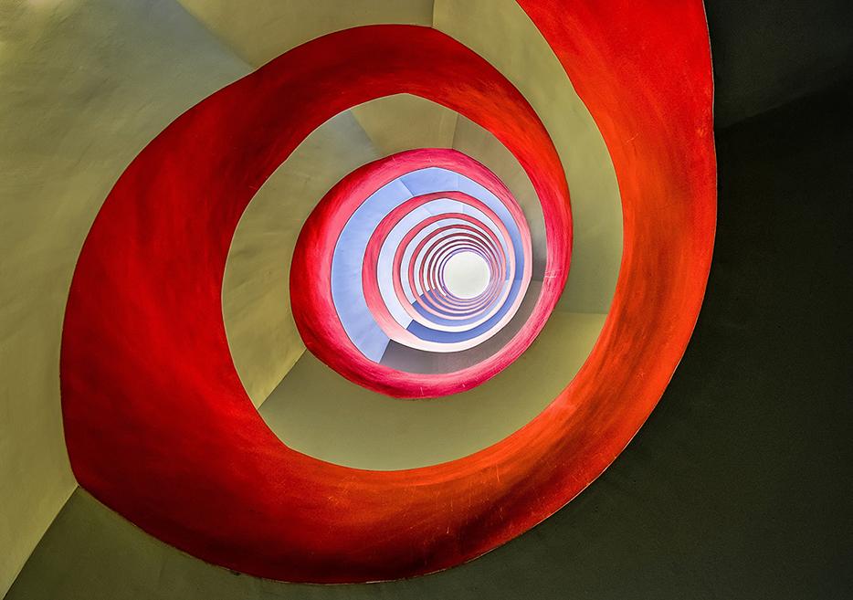 Стълбище на офис-сграда в Кьолн, Германия. Снимка: © Holger Schmidtke, Germany, Entry, Architecture, Open Competition, 2014 Sony World Photography Awards