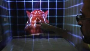 "В екрана ""MisTable"" може да се бръкне. Снимка: Bristol Interaction and Graphics group, University of Bristol"