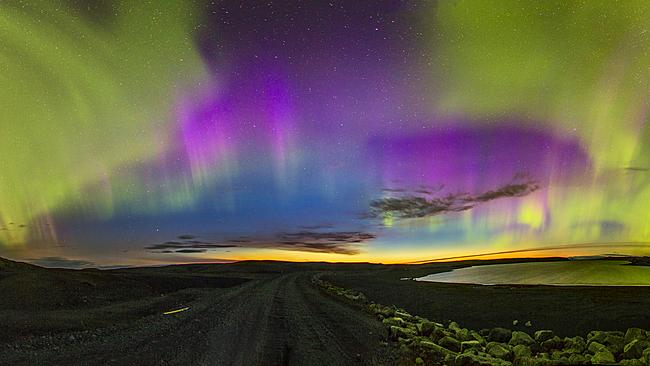 Над Исландия. Снимка: Vanessa O'Hanlon