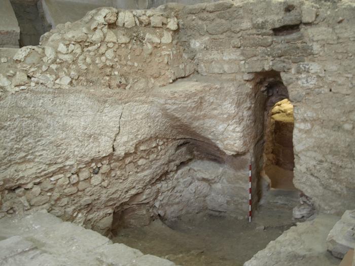 Къщата, в която може би е израснал Христос. Снимка: Кен Дарк