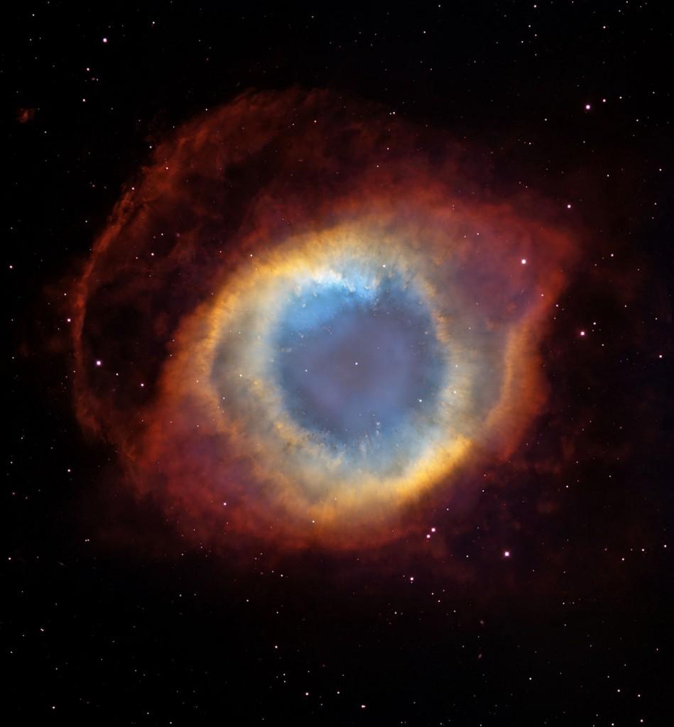 Мъглявината Спирала е резултат от красивото светене на газа, изхвърлян от звезда като Слънцето в края на своя живот. Снимка: NASA, ESA, C.R. O'Dell (Vanderbilt University), and M. Meixner, P. McCullough, and G. Bacon ( Space Telescope Science Institute)