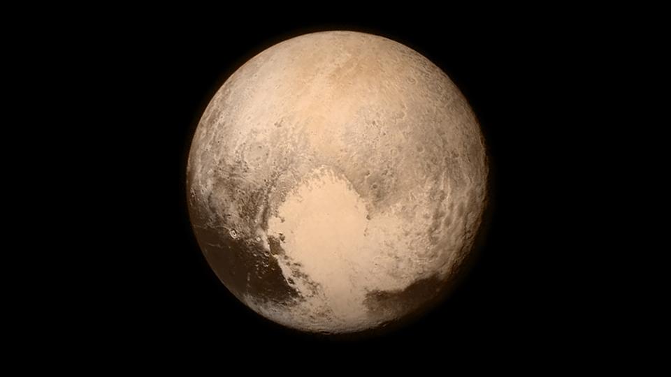 Последната снимка на Плутон, направена от New Horizons на 13 юли. Снимка: НАСА